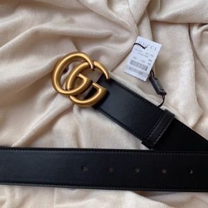yNew Gucci Belt Áüthèntíć Double G Marmot